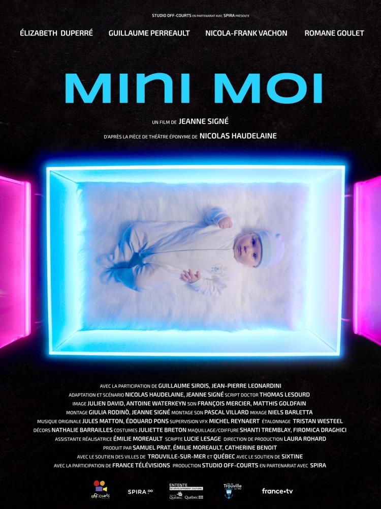 Affiche Mini Moi de Jeanne Signé